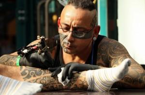 Профессия татуировщик