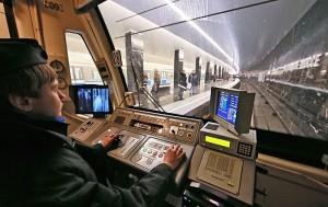 Машинист электропоезда метрополитена