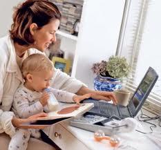 Работа для молодых мам на дому