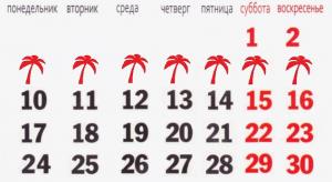 Входят ли праздничные дни в отпуск